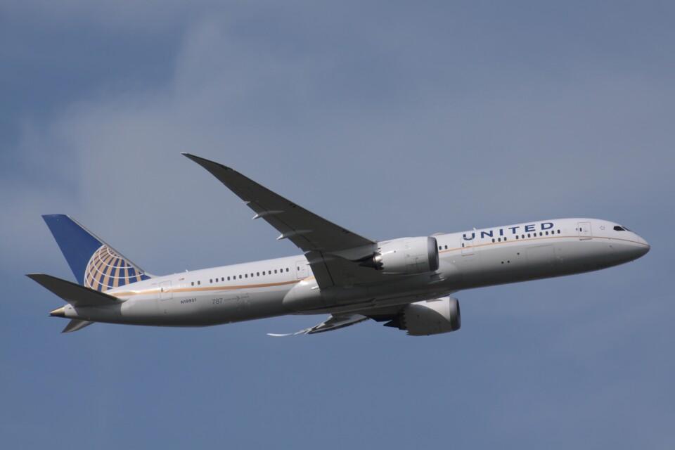 Mr.boneさんのユナイテッド航空 Boeing 787-9 (N19951) 航空フォト