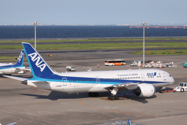Mr.boneさんが、羽田空港で撮影した全日空 787-8 Dreamlinerの航空フォト(飛行機 写真・画像)
