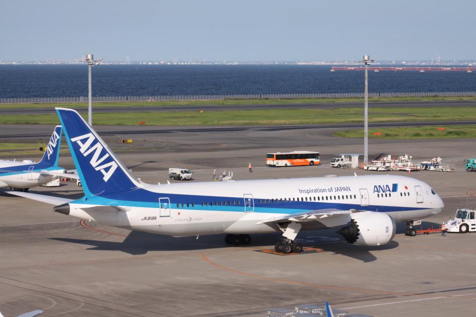 Mr.boneさんの全日空 Boeing 787-8 Dreamliner (JA818A) 航空フォト