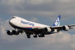 Koenig117さんが、成田国際空港で撮影した日本貨物航空 747-8KZF/SCDの航空フォト(飛行機 写真・画像)