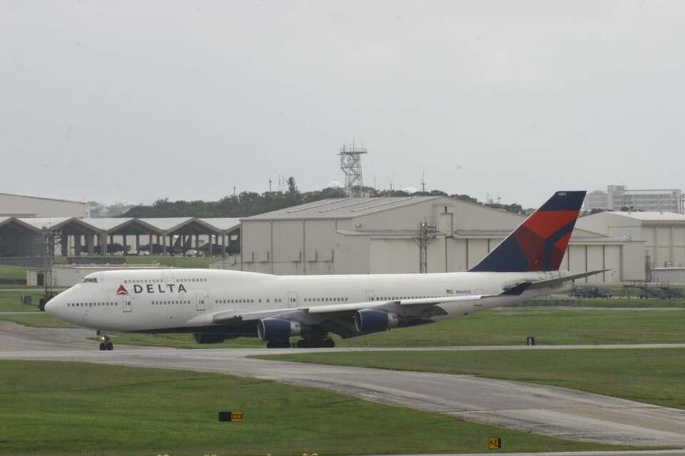 Mr.boneさんのデルタ航空 Boeing 747-400 (N665US) 航空フォト