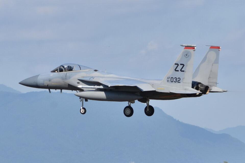 ワイエスさんのアメリカ空軍 McDonnell Douglas F-15 A/B/C/D/E (81-0032) 航空フォト
