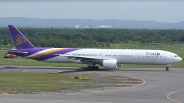 YouKeyさんが、新千歳空港で撮影したタイ国際航空 777-3D7の航空フォト(飛行機 写真・画像)