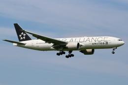 kaeru6006さんが、成田国際空港で撮影したユナイテッド航空 777-224/ERの航空フォト(飛行機 写真・画像)