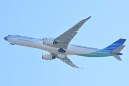 M.Tさんが、関西国際空港で撮影したガルーダ・インドネシア航空 A330-941の航空フォト(飛行機 写真・画像)