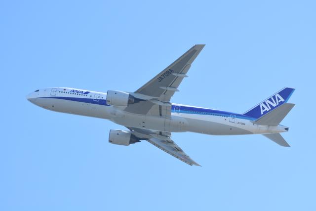 M.Tさんが、関西国際空港で撮影した全日空 777-281/ERの航空フォト(飛行機 写真・画像)