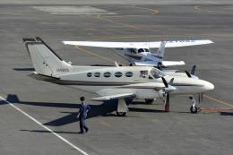 Gambardierさんが、岡南飛行場で撮影した日本法人所有 425 Conquest Iの航空フォト(飛行機 写真・画像)