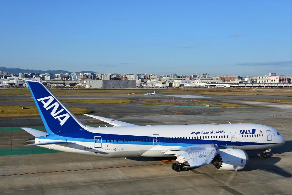 T.Sazenさんの全日空 Boeing 787-8 Dreamliner (JA812A) 航空フォト
