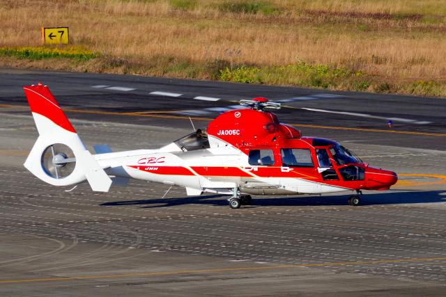 yabyanさんが、名古屋飛行場で撮影した中日本航空 AS365/565の航空フォト(飛行機 写真・画像)