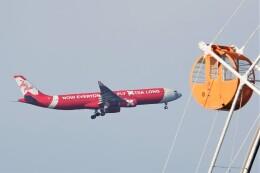 jutenLCFさんが、中部国際空港で撮影したタイ・エアアジア・エックス A330-343Xの航空フォト(飛行機 写真・画像)