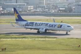 tet77さんが、福岡空港で撮影したスカイマーク 737-86Nの航空フォト(飛行機 写真・画像)