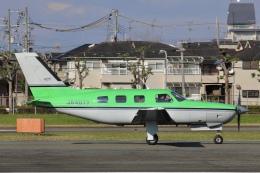 Hii82さんが、八尾空港で撮影した日本法人所有 PA-46-350P Malibu Mirageの航空フォト(飛行機 写真・画像)