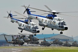 wetwingさんが、木更津飛行場で撮影した陸上自衛隊 EC225LP Super Puma Mk2+の航空フォト(飛行機 写真・画像)