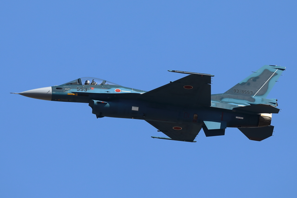 levo2735さんの航空自衛隊 Mitsubishi F-2A (93-8553) 航空フォト
