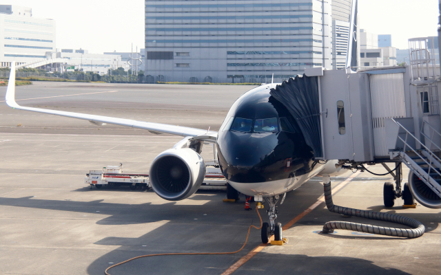 CL&CLさんが、羽田空港で撮影したスターフライヤー A320-214の航空フォト(飛行機 写真・画像)