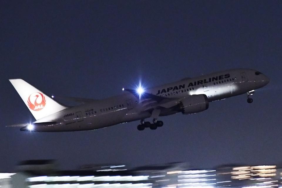 TOPAZ102さんの日本航空 Boeing 787-8 Dreamliner (JA846J) 航空フォト