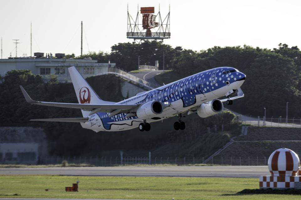 K.Sさんの日本トランスオーシャン航空 Boeing 737-800 (JA05RK) 航空フォト