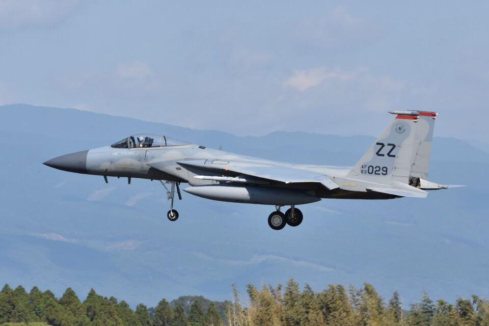 ワイエスさんのアメリカ空軍 McDonnell Douglas F-15 A/B/C/D/E (83-0029) 航空フォト