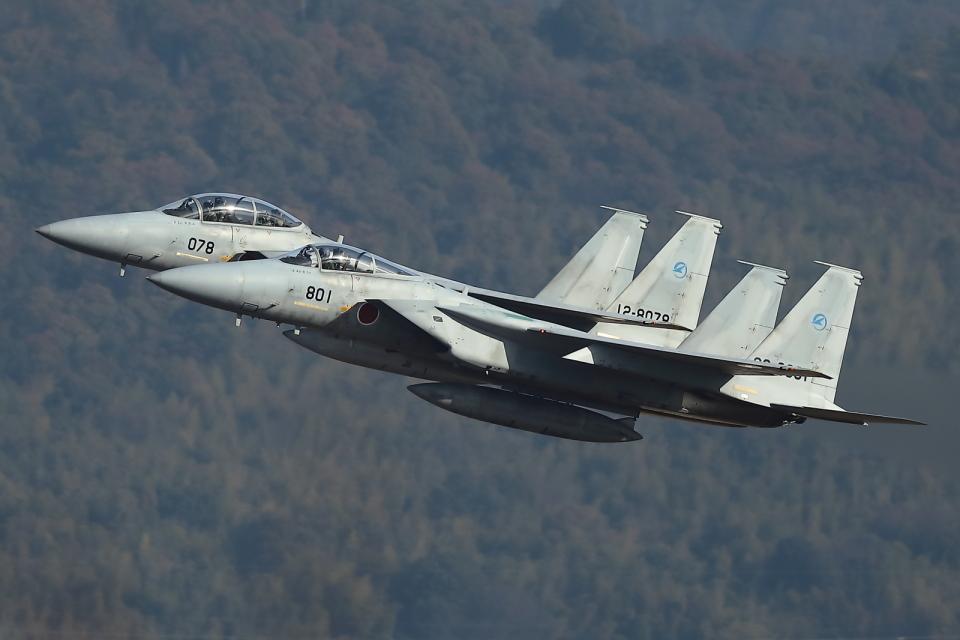 levo2735さんの航空自衛隊 McDonnell Douglas F-15J Eagle (02-8801) 航空フォト