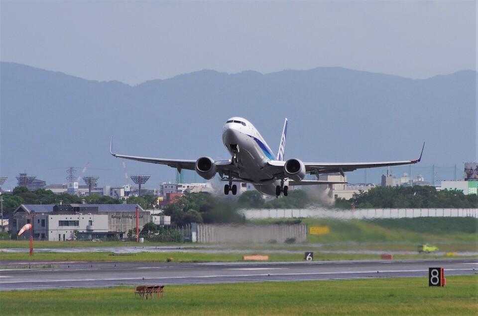 mild lifeさんの全日空 Boeing 737-800 (JA66AN) 航空フォト