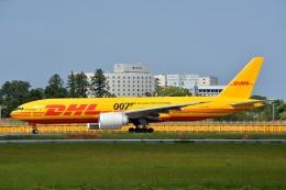 サンドバンクさんが、成田国際空港で撮影したDHL 777-FZNの航空フォト(飛行機 写真・画像)