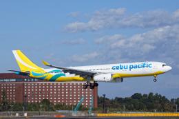 SGR RT 改さんが、成田国際空港で撮影したセブパシフィック航空 A330-343Xの航空フォト(飛行機 写真・画像)