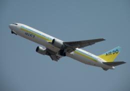 tetuさんが、新千歳空港で撮影したAIR DO 767-33A/ERの航空フォト(飛行機 写真・画像)