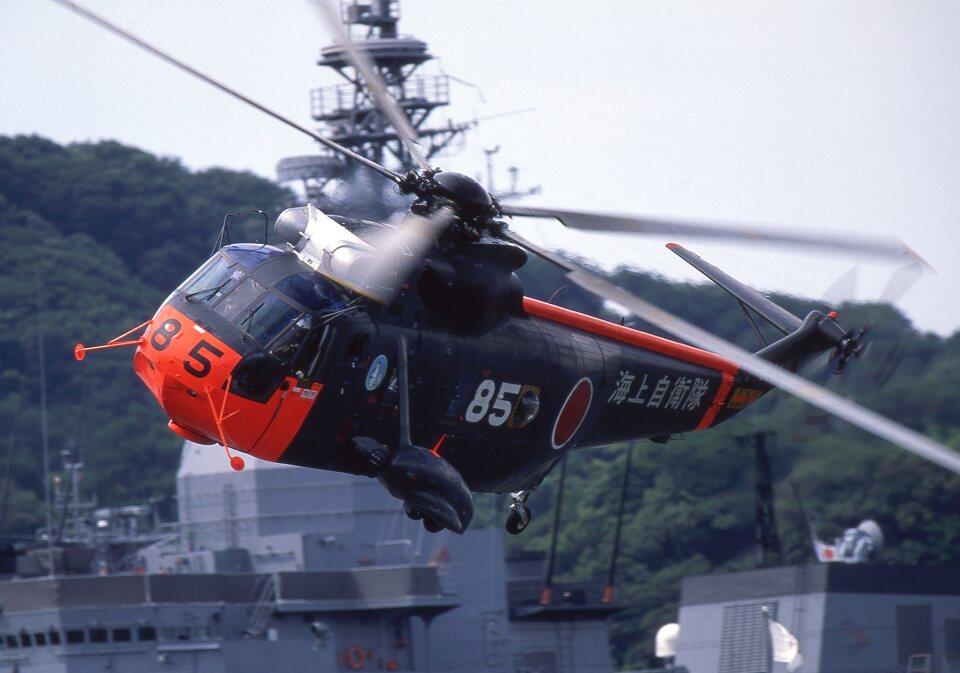F-4さんの海上自衛隊 Mitsubishi S-61 (8185) 航空フォト