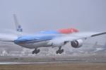 パンダさんが、成田国際空港で撮影したKLMオランダ航空 777-306/ERの航空フォト(飛行機 写真・画像)