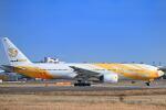 シグナス021さんが、成田国際空港で撮影したノックスクート 777-212/ERの航空フォト(飛行機 写真・画像)