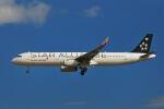 シグナス021さんが、成田国際空港で撮影したアシアナ航空 A321-231の航空フォト(飛行機 写真・画像)