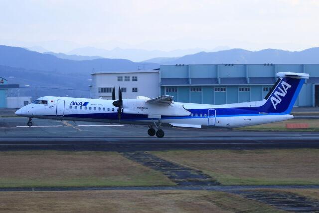 kengo.k@RJFTさんが、熊本空港で撮影したANAウイングス DHC-8-402Q Dash 8の航空フォト(飛行機 写真・画像)