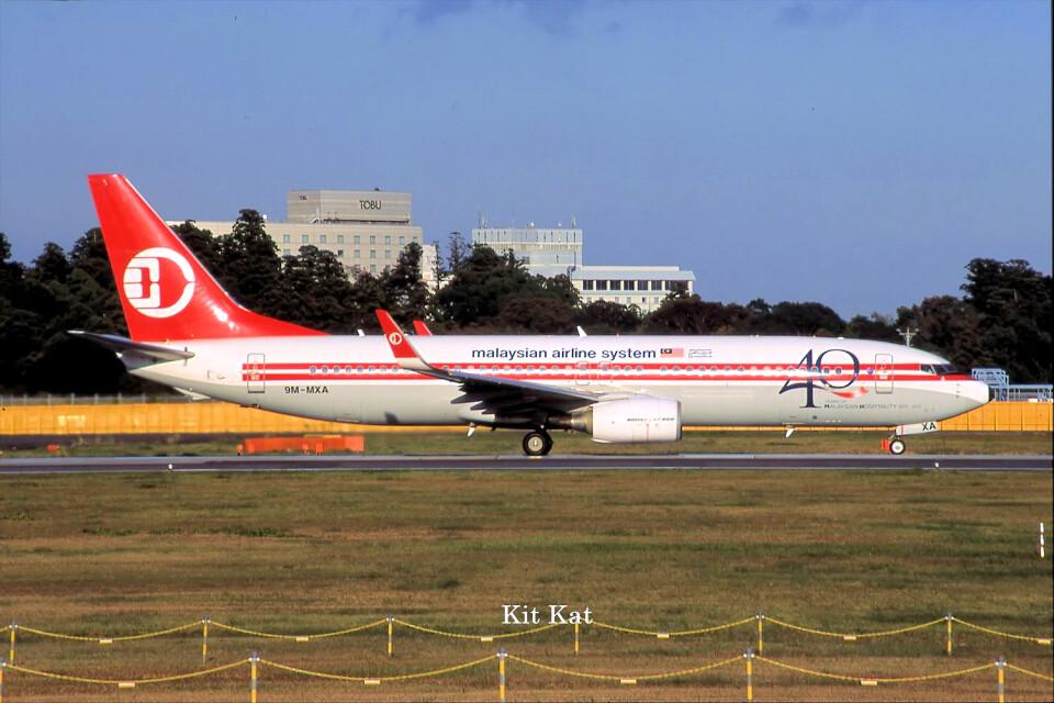 キットカットさんのマレーシア航空 Boeing 737-800 (9M-MXA) 航空フォト