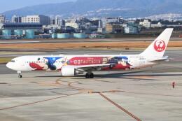 青春の1ページさんが、伊丹空港で撮影した日本航空 767-346/ERの航空フォト(飛行機 写真・画像)