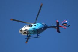 マサヒロさんが、成田国際空港で撮影した中日新聞社 EC135P2の航空フォト(飛行機 写真・画像)