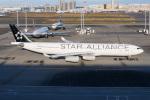kuraykiさんが、羽田空港で撮影したルフトハンザドイツ航空 A340-313Xの航空フォト(飛行機 写真・画像)