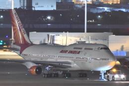 B747‐400さんが、羽田空港で撮影したエア・インディア 747-437の航空フォト(飛行機 写真・画像)