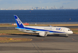 tsubameさんが、羽田空港で撮影した全日空 787-8 Dreamlinerの航空フォト(飛行機 写真・画像)