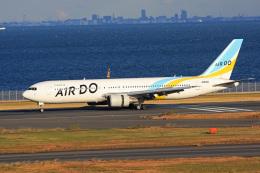 tsubameさんが、羽田空港で撮影したAIR DO 767-381/ERの航空フォト(飛行機 写真・画像)