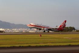 Judy1009さんが、静岡空港で撮影した中国聯合航空 737-89Pの航空フォト(飛行機 写真・画像)