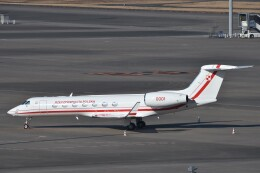 B747‐400さんが、羽田空港で撮影したポーランド政府 G500/G550 (G-V)の航空フォト(飛行機 写真・画像)
