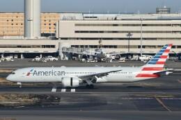 B747‐400さんが、羽田空港で撮影したアメリカン航空 787-9の航空フォト(飛行機 写真・画像)