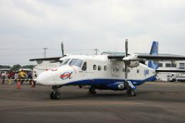 kahluamilkさんが、調布飛行場で撮影した宇宙航空研究開発機構 Do 228-202の航空フォト(飛行機 写真・画像)