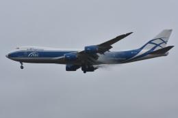 Izumixさんが、成田国際空港で撮影したエアブリッジ・カーゴ・エアラインズ 747-8HVFの航空フォト(飛行機 写真・画像)