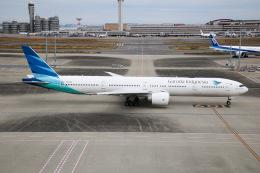 えのびよーんさんが、羽田空港で撮影したガルーダ・インドネシア航空 777-3U3/ERの航空フォト(飛行機 写真・画像)