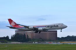 ポン太さんが、成田国際空港で撮影したカーゴルクス 747-8R7F/SCDの航空フォト(飛行機 写真・画像)