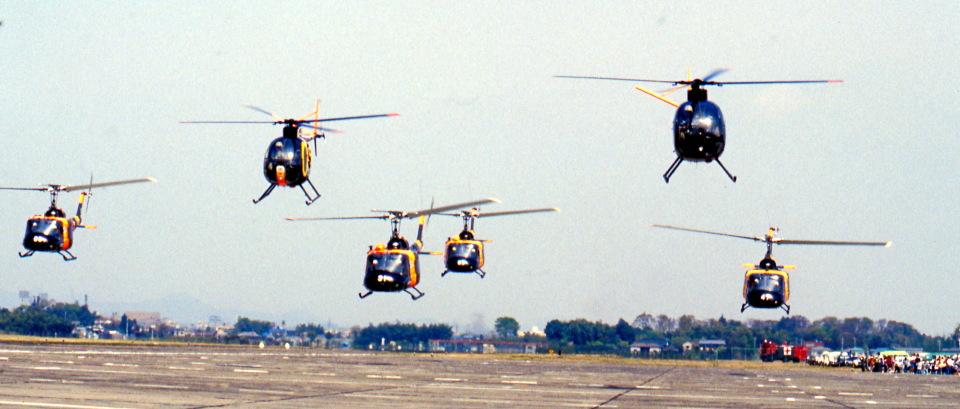Y.Todaさんの陸上自衛隊 Kawasaki OH-6J (31040) 航空フォト