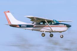 NCT310さんが、調布飛行場で撮影した水産航空 U206G Stationair 6 IIの航空フォト(飛行機 写真・画像)