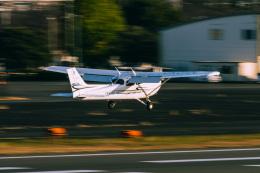 NCT310さんが、調布飛行場で撮影したアイベックスアビエイション 172S Skyhawk SPの航空フォト(飛行機 写真・画像)