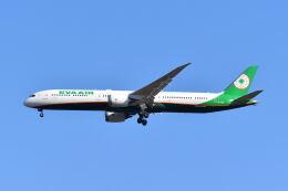 ポン太さんが、成田国際空港で撮影したエバー航空 787-10の航空フォト(飛行機 写真・画像)